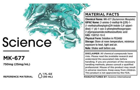 High quality MK-677 by Bioscience